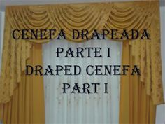 COMO HACER EL PATRON DE UNA CENEFA DRAPEADA PARTE II - HOW TO MAKE THE PATTERN OF A DRAPED CENEFA II - YouTube