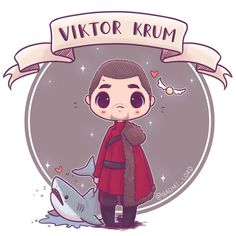 """9,392 Likes, 81 Comments - Naomi Lord (@naomi_lord) on Instagram: """"✨❤️ Viktor Krum! ❤️✨ I've decided that after the triwizard tournament he kept trying to transfigure…"""""""
