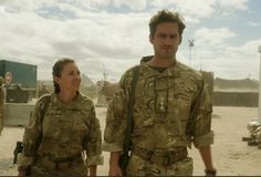 Dawsey and Captain James - Our Girl - S1E4