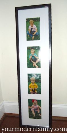 L O V E my kids... a creative and inexpensive gift for Grandparents - Your Modern Family