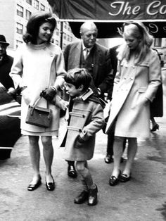 Jacqueline Kennedy, Randolph Churchill, Daughter, Arabella Churchill, and John F Kennedy Jr Posters at AllPosters.com