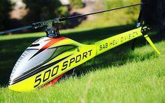 Goblin 500 Sport  #sabgoblin #goblin500sportyellowedition #helidirect #rcheli #rchelicopter by helidirectrc