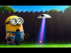 Best Sweet Minions Movie - Let The UFO Go Home Minions funny video collection… Minions Clips, Minion Movie, Minions Despicable Me, Minions Trailer, Funny Picture Quotes, Funny Pictures, Minions Banana Song, Sandra Bullock Movies, Minion Rush