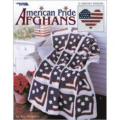 Leisure Arts - American Pride Afghans, $3.98 (http://www.leisurearts.com/products/american-pride-afghans.html)