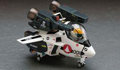 Hasegawa MODELmilitary models #65791 Egg Plane VF-1S STRIKE/SUPER VALKYRIE plastic model kit