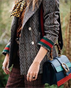 Winter layering #gucci #chic #glamour #classic #vogue #streetstyle #streetfashion