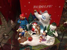 Rudolph Snow Globe!
