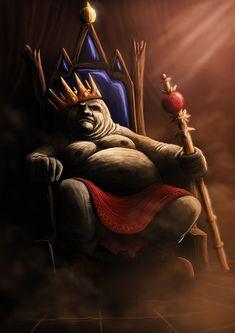 Greedy king