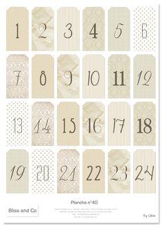 Numeri per Calendari dell'Avvento