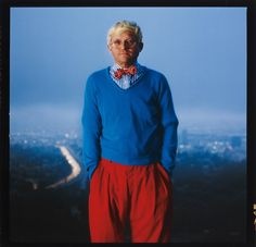 David Hockney, Los Angeles, 1983  Annie Leibovitz