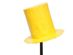 Both a crafty fashion statement and utilitarian chapeau, a duct tape top hat is a fun craft project. Grab a roll of the do-it-all tape in any color and get ready to look dapper. Measure the size of your hat. Fold a long strip of duct tape...