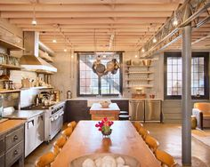 Industrial Kitchen   Open Plan   Carriage House   Guest Home   In-Law Suite