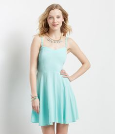 Aeropostale Daisy Strap Dress Found on my new favorite app Dote Shopping #DoteApp #Shopping