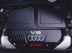Audi RS6 4.2 litre biturbo V8 engine (03/2002)