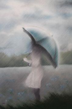 Après-midi de pluie Pastels, Bird, Animals, Rain, Animales, Animaux, Birds, Animal Memes, Animal