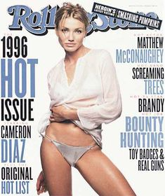 RS741: Cameron Diaz Image - 1996 Rolling Stone Covers | Rolling Stone