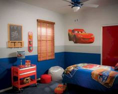 Here is Cool Disney Cars Bedroom Accessories Theme Decor For Kids Photo Collections at Kids Bedroom Design Catalogue. More Picture Design Disney Cars Bedroom Accessories can you found at her Cars Bedroom Set, Boys Car Bedroom, Car Themed Bedrooms, Room Decor Bedroom, Bedroom Ideas, Disney Cars Room, Disney Themed Rooms, Disney Bedrooms, Disney Pixar