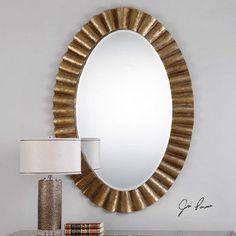 Bungalow Rose Gadji Oval Mirror