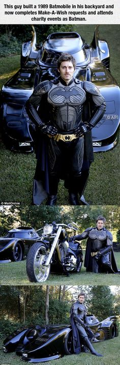 A Real Life Batman - Now all the people who say nerds are not cool can stand corrected.  This guy takes nerdiness to whole new levels of incredible awesome.