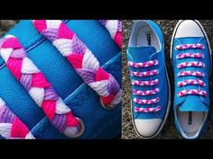 Braided Bar Shoelace Design | Shoelace Patterns | Lace Anchors®