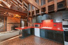 This 1974 time capsule house has two-story ceilings, wonderful woodwork, fabulous bathroom tile -- great 1970s design!