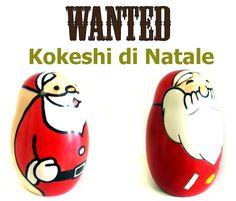 #Kokeshi di Natale sono tornate on-line!!