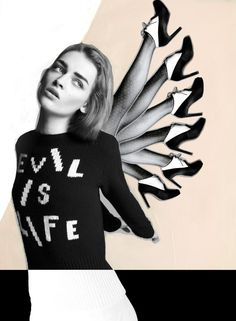 Daga Ziober for Flair. Shot by Quentin Jones. #Models #PicturePerfect