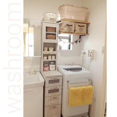 Daiso / ceria / Natural Kitchen / washroom / Mahalo basket / enameled bucket ... interior example of such - 2015-10-08 18:47:07 | RoomClip (Room clip)