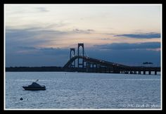 Newport, RI...I swear that the air even smells sweeter when you cross this bridge.