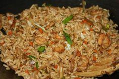Shrimp fried rice - CaribbeanPot.com