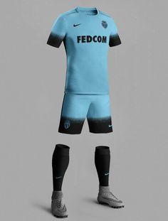 Nike 15-16 Third Kit Inspired Football Kits | AS Monaco