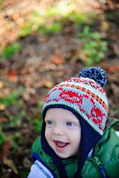 Knitting Patterns Galore - Cheery Scrap Cap