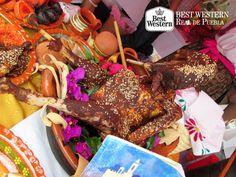 EL MEJOR HOTEL EN PUEBLA. Gracias a las monjas, la cocina conventual tuvo gran influencia en la historia de la cocina colonial mexicana. En Best Western Real de Puebla, le invitamos a probar la variedad de platillos típicos del estado, tales como el pipián, el mole poblano y los chiles en nogada, entre otros. #bestwesternpuebla