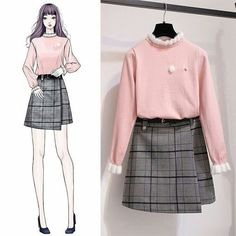 Korean Fashion Trends you can Steal – Designer Fashion Tips Kawaii Fashion, Cute Fashion, Teen Fashion, Womens Fashion, Fashion Styles, Fashion Ideas, Fashion Tips, Korean Fashion Trends, Korea Fashion