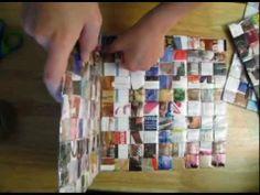 DIY - Recycled Magazine Box