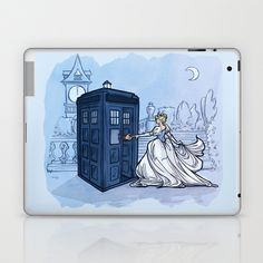 Come Away with Me Laptop & iPad Skin by Karen Hallion Illustrations - $25.00