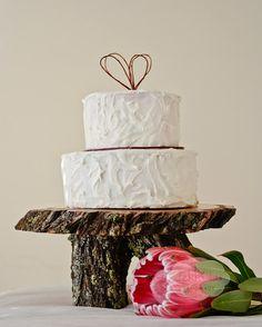 IRONBARK wedding cake stand by JekkiLu on Etsy