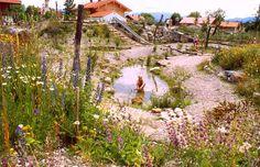 Spielplatz Eglfing: Naturgartenplaner Reinhard Witt