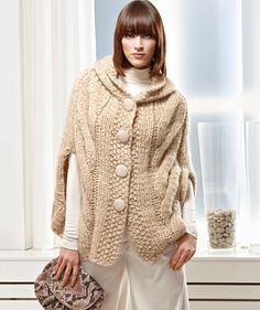 Capas de lana tejidas - Imagui