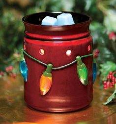 Holiday Lights #Scentsy Warmer www.davadear.scentsy.us