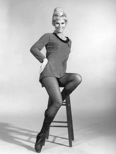 The world has just lost another beloved Star Trek Original Series cast member with the passing of Grace Lee Whitney on Friday, May at th. Star Trek Enterprise, Star Trek Starships, Star Trek 1966, Star Trek Tv, Star Wars, Spock, Watches Rolex, Science Fiction, Alice Faye