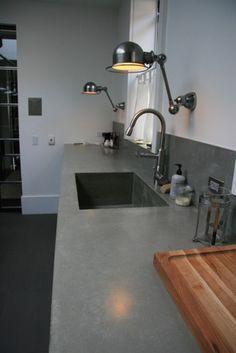 Concrete kitchen countertops modern kitchen countertops