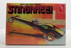 Stingaree Funny Car Dragster AMT 38664 1/25 New Car Model Kit - Shore Line Hobby