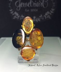 Excited to share the latest addition to my #etsy shop: Natural Amber Ring/Unique Amber Ring/Artisan Amber Ring/Geniune Amber Ring/Modern Amber Ring/Large Organic Amber Ring/Free US Ship.