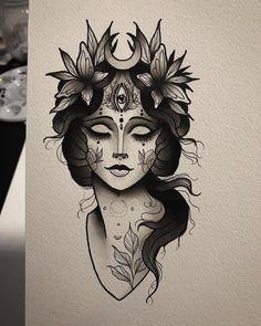 Mini Tattoos, Black Tattoos, New Tattoos, Cool Tattoos, Tattoo Sketches, Tattoo Drawings, Neo Traditional Art, Traditional Tattoos, American Traditional