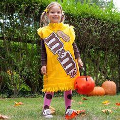 M & M's Halloween costume