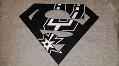 Super San Antonio Spurs by TinasCustomTees on Etsy