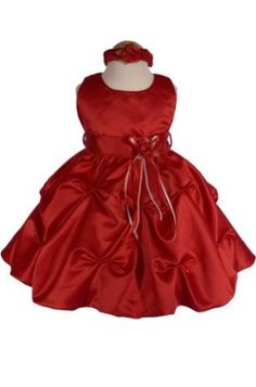 Perfect for Baby Girls Wedding Dress, Christening Dress, Birthday Party Dress, and Other Special Occasions. Above the Ankle Length. Made In USA. AMJ Dresses Inc Baby Girls' Red Flower Girl Christmas Dress Sz L Baby Girl Wedding Dress, Baby Girl Party Dresses, Wedding Dresses For Girls, Girls Dresses, Toddler Christmas Outfit, Baby Girl Christmas Dresses, Christmas Outfits, Red Christmas, Christmas Wedding