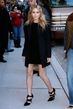 Style Icon Saturdays by Cate Featuring Ashley Olsen