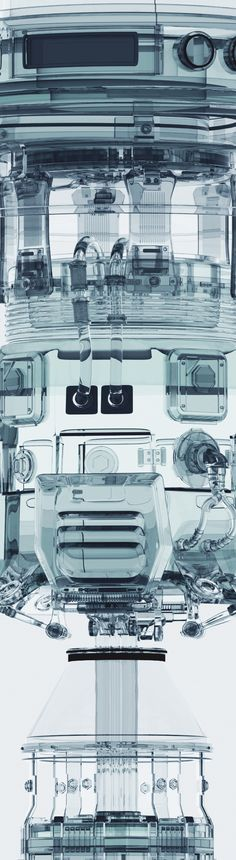 Transparent Machines by Mike Winkelmann, via #Behance #illustration